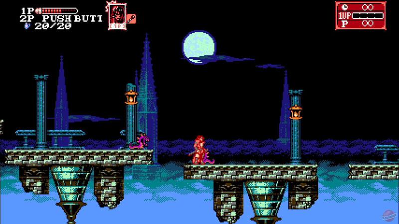 Bloodstained Curse of the Moon 2 US Nintedo Switch дополнительное изображение 1