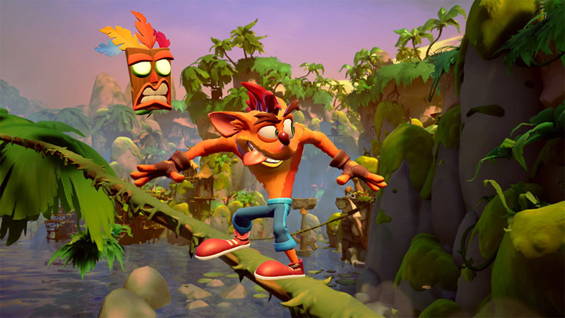 Crash Bandicoot 4 Это вопрос времени US Nintendo Switch дополнительное изображение 1
