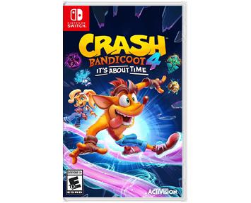 Crash Bandicoot 4: Это вопрос времени (Русская версия)[US](Nintendo Switch)