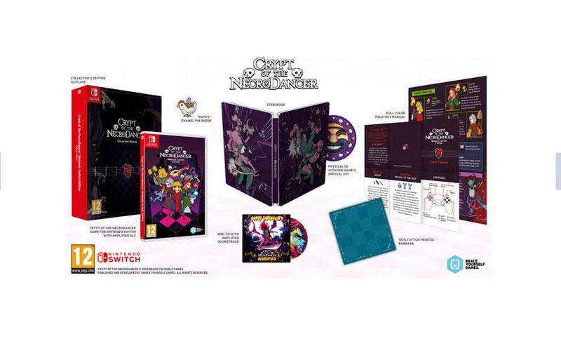 Crypt of the NecroDancer Collectors Edition  Nintendo Switch дополнительное изображение 1