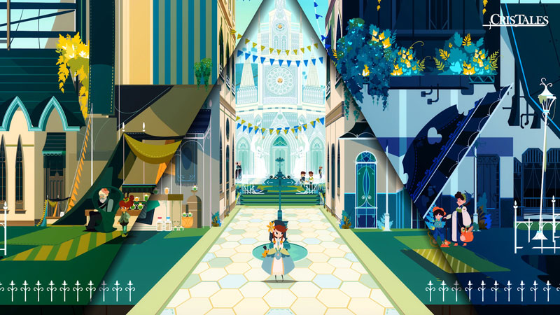 Cris Tales  PS4 дополнительное изображение 2
