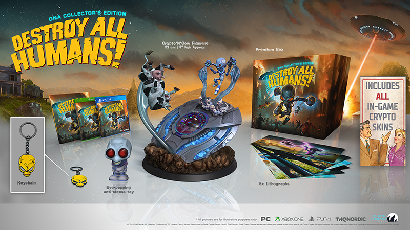 Destroy All Humans! Collectors Edition  PS4 дополнительное изображение 1