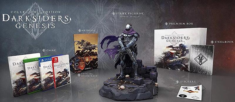 Darksiders Genesis Collectors Edition  PS4 дополнительное изображение 1