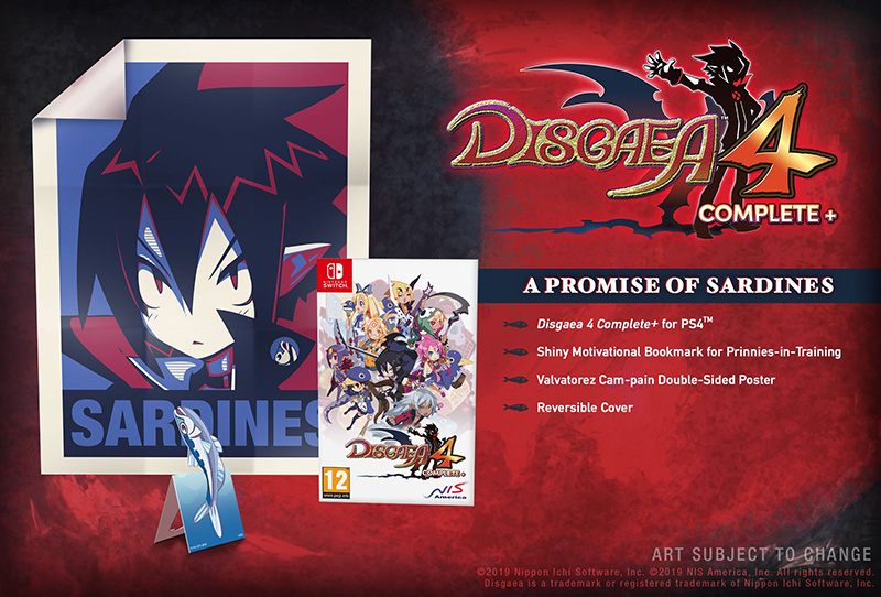 Disgaea 4 Complete и A Promise of Sardines Edition  Nintendo Switch дополнительное изображение 1