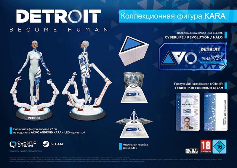 Фигура Detroit Become Human - Kara  дополнительное изображение 1