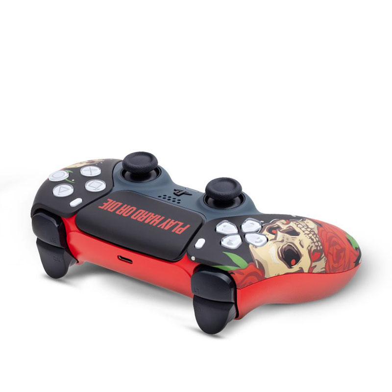 Кастомизированный беспроводной геймпад PS5 DualSense Play Hard Or Die дополнительное изображение 3