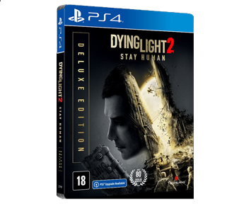 Dying Light 2 Stay Human Deluxe Steelbook Edition (Русская версия)(PS4) ПРЕДЗАКАЗ!