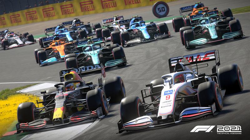 F1 2021  PS5 дополнительное изображение 2