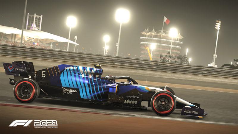 F1 2021  PS5 дополнительное изображение 3