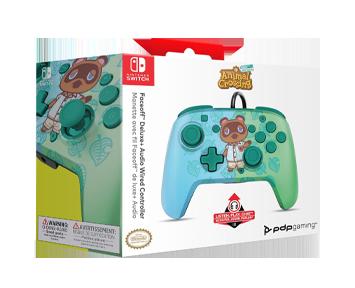Проводной джойстик Nintendo Switch Faceoff Deluxe Animal Crossing