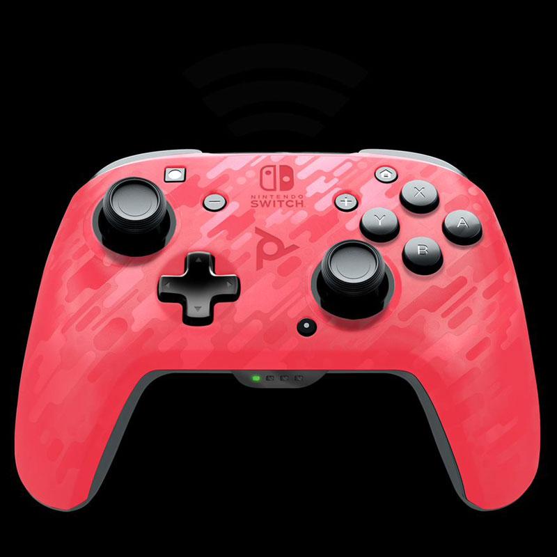 Беспроводной контроллер Faceoff Pink Camo  Nintendo Switch дополнительное изображение 4