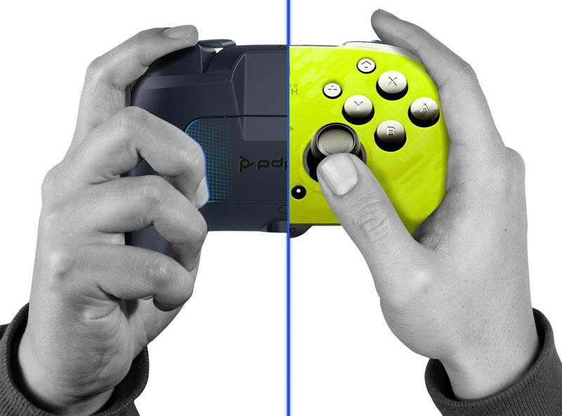 Беспроводной контроллер Faceoff Camo Yellow  Nintendo Switch дополнительное изображение 3