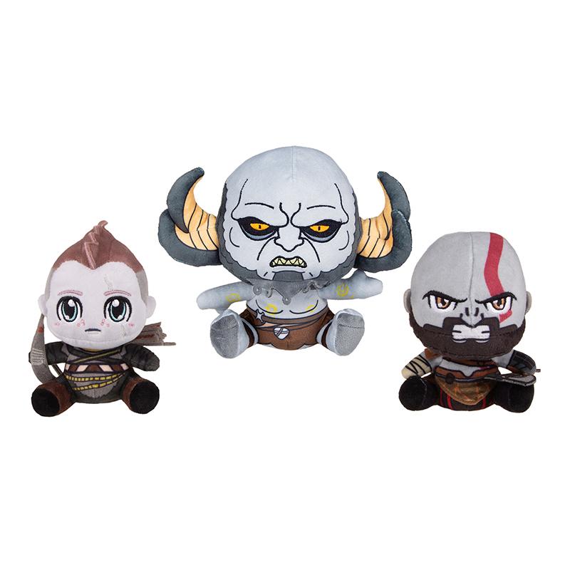 Набор мягких игрушек Gaya Stubbins Plush God Of War Kratos & Atreus & Troll дополнительное изображение 1