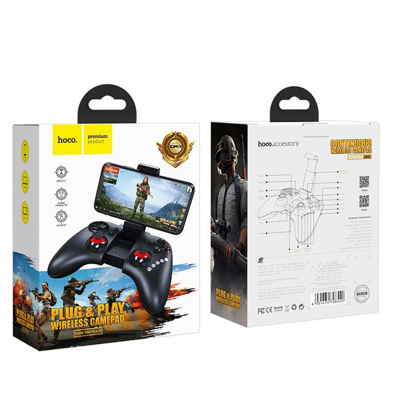 Беспроводной Gamepad GM3 Hoko для телефонов Androi/IOS дополнительное изображение 4