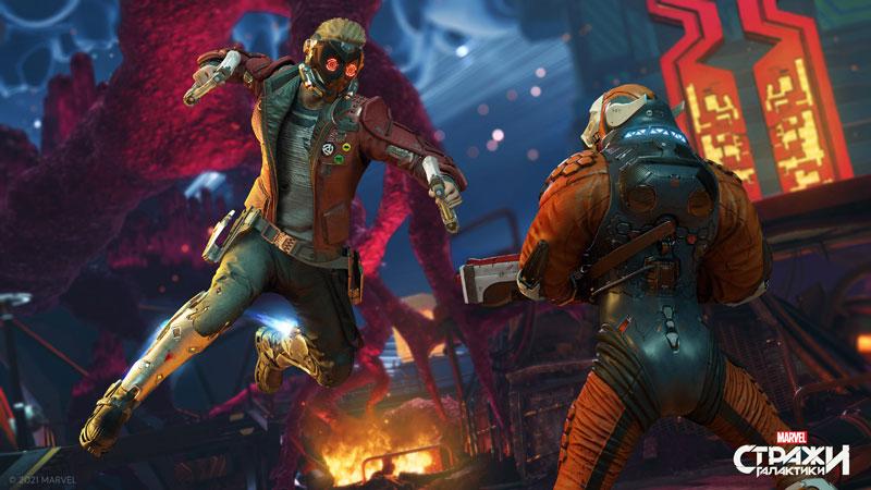 Стражи Галактики Marvel  Xbox One/Series X  дополнительное изображение 1