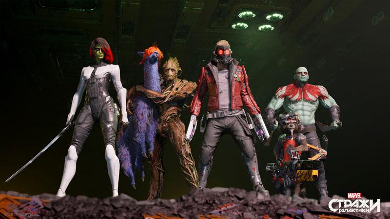 Стражи Галактики Marvel  Xbox One/Series X  дополнительное изображение 3