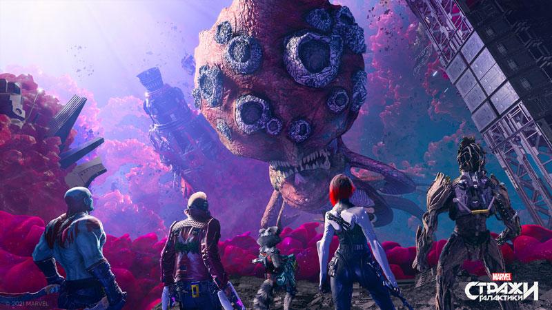 Стражи Галактики Marvel  Xbox One/Series X  дополнительное изображение 4
