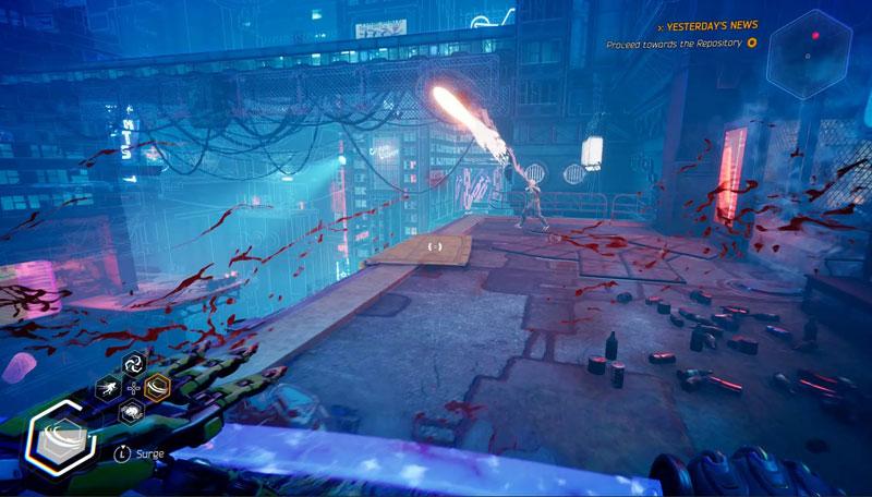Ghostrunner AS PS4 дополнительное изображение 2