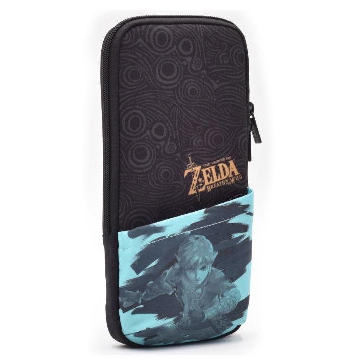 Защитный чехол Hori Slim pouch Zelda Breath of the wild  Nintendo Switch дополнительное изображение 1