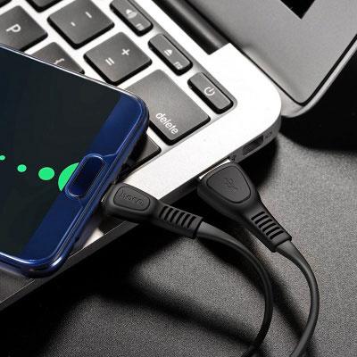 Кабель Hoco x40 White USB/Type-C 1m дополнительное изображение 2