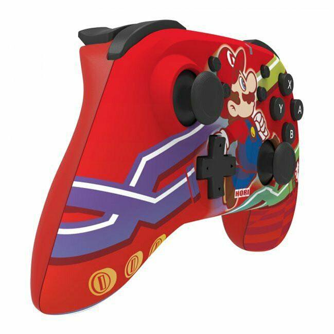 Геймпад Hori Wireless Horipad Super Mario  Nintendo Switch дополнительное изображение 2