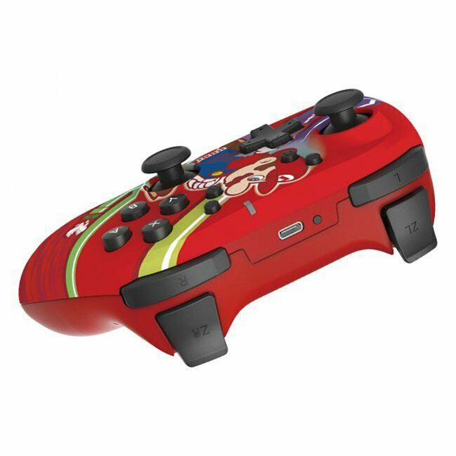 Геймпад Hori Wireless Horipad Super Mario  Nintendo Switch дополнительное изображение 3