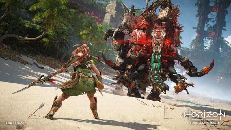 Horizon Запретный Запад Forbidden West PS4  дополнительное изображение 1