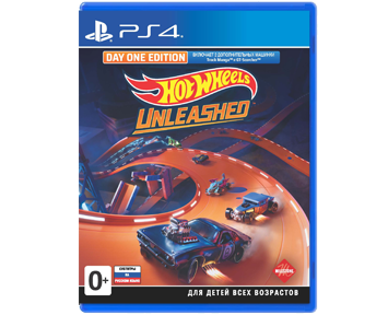 Hot Wheels Unleashed Day One Edition (Русская версия)(PS4)
