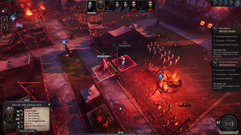 Immortal Realms Vampire Wars  PS4 дополнительное изображение 3