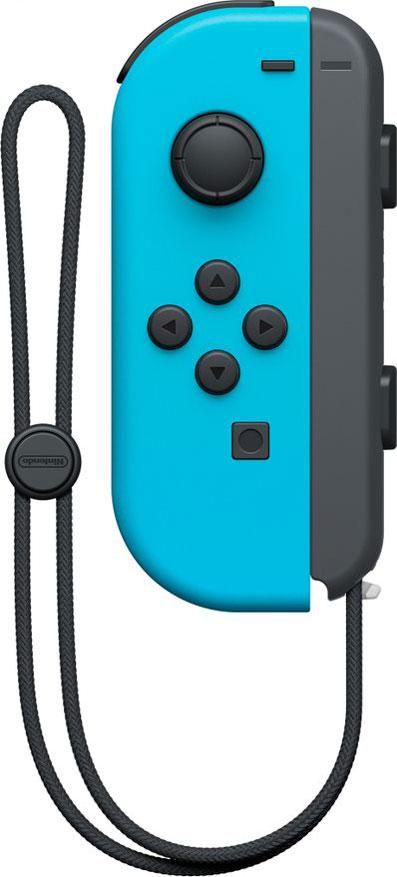 Joy-Con контроллер  Левый Неоново синий дополнительное изображение 1