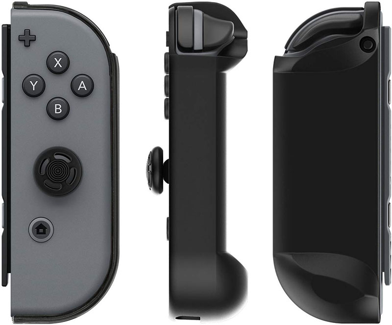 Накладки Joy-Con Armor Guards 2 Pack Black  Nintendo Switch дополнительное изображение 1