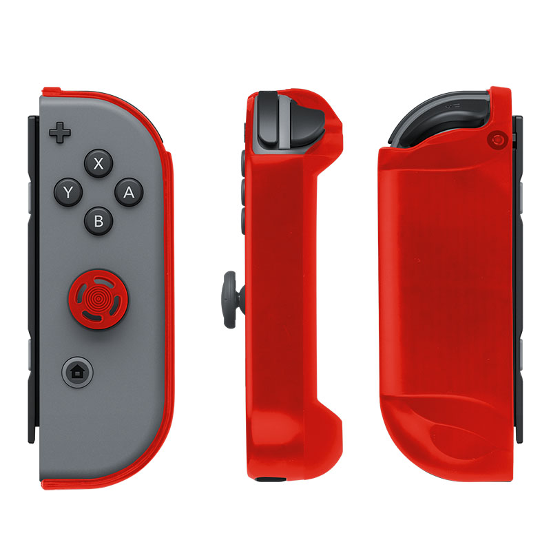 Накладки Joy-Con Armor Guards Red и Black Pack  Nintendo Switch дополнительное изображение 1
