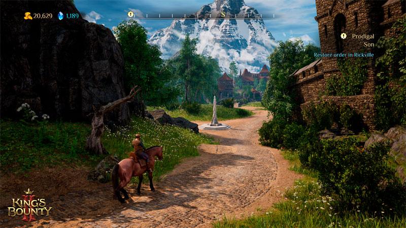 King Bounty II Королевское издание  PS4  дополнительное изображение 4
