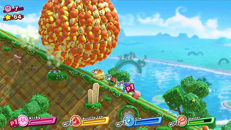 Kirby Star Allies  Nintendo Switch дополнительное изображение 2