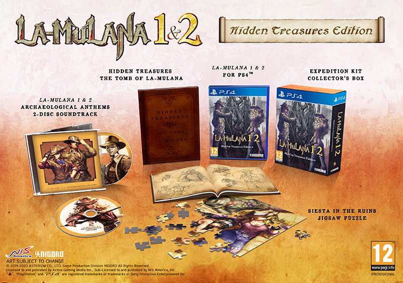 LA-MULANA 1 & 2 Hidden Treasures Edition  PS4  дополнительное изображение 1