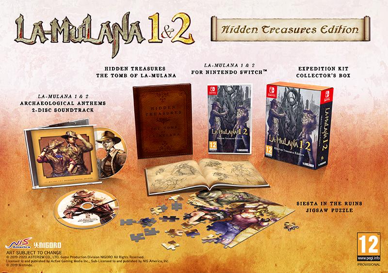 LA-MULANA 1 & 2 Hidden Treasures Edition  Nintendo Switch  дополнительное изображение 1