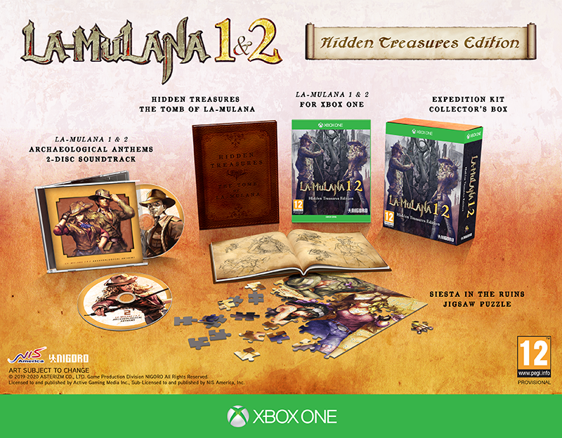 LA-MULANA 1 & 2 Hidden Treasures Edition  Xbox One  дополнительное изображение 1