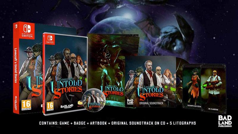 Lovecraft Untold Stories - Collector Edition  Nintendo Switch дополнительное изображение 1