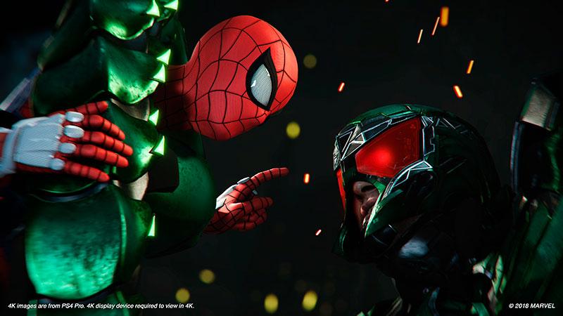 Человек паук ps4