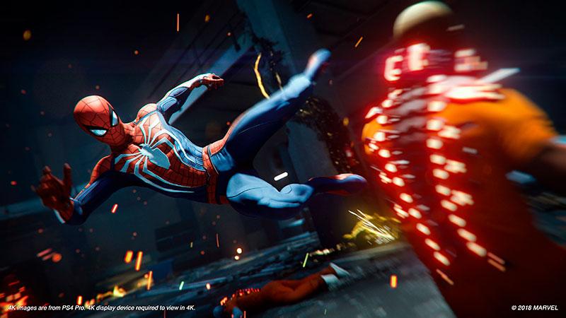 Spiderman Игра Года ps4
