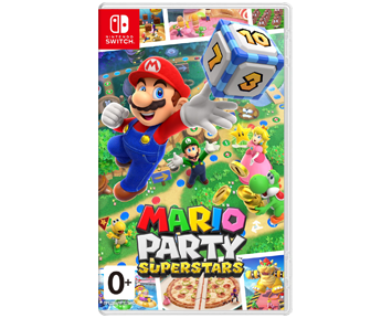 Mario Party Superstars (Русская версия)(Nintendo Switch) ПРЕДЗАКАЗ!