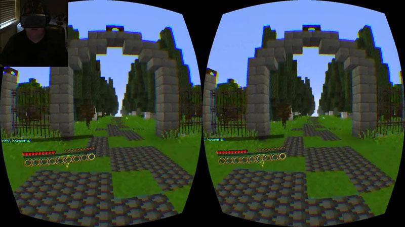 Minecraft  поддержка PS VR PS4 дополнительное изображение 3