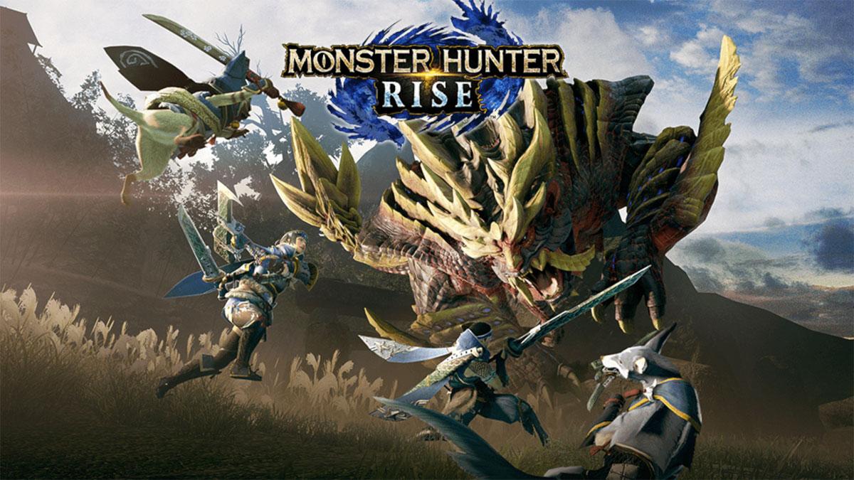 Monster Hunter Rise для Nintendo Switch во всей красе.