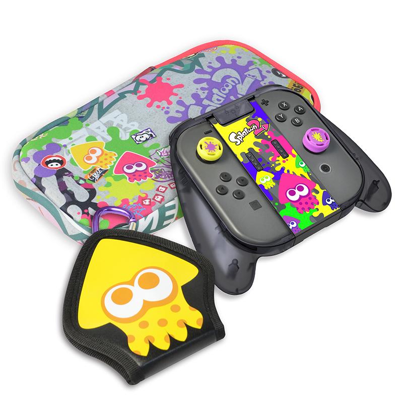 Набор аксессуаров Splatoon 2 Deluxe pack  Nintendo Switch дополнительное изображение 1