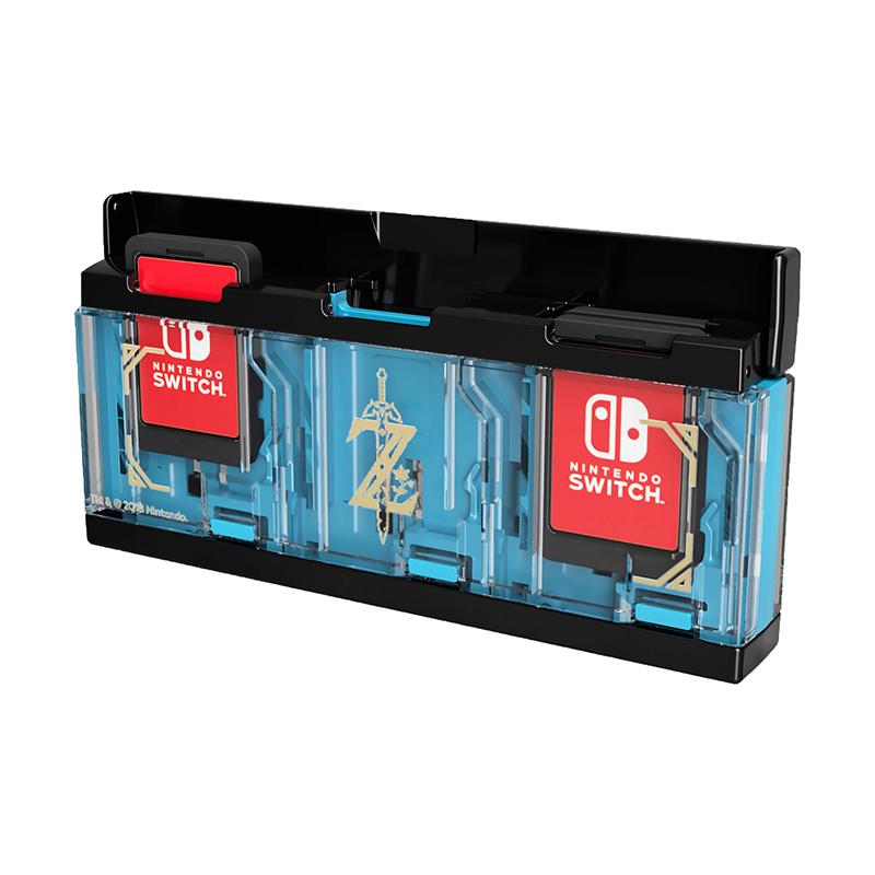 Кейс Hori Zelda для хранения 6 игровых карт  Nintendo Swith дополнительное изображение 1