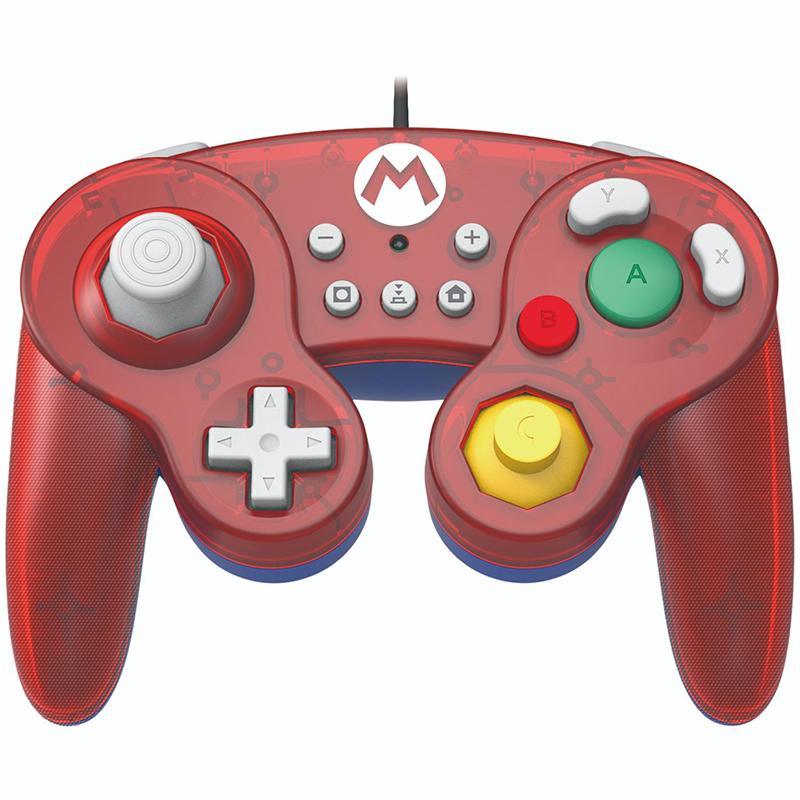Джойстик Hori Battle Pad Mario  Nintendo Switch дополнительное изображение 1