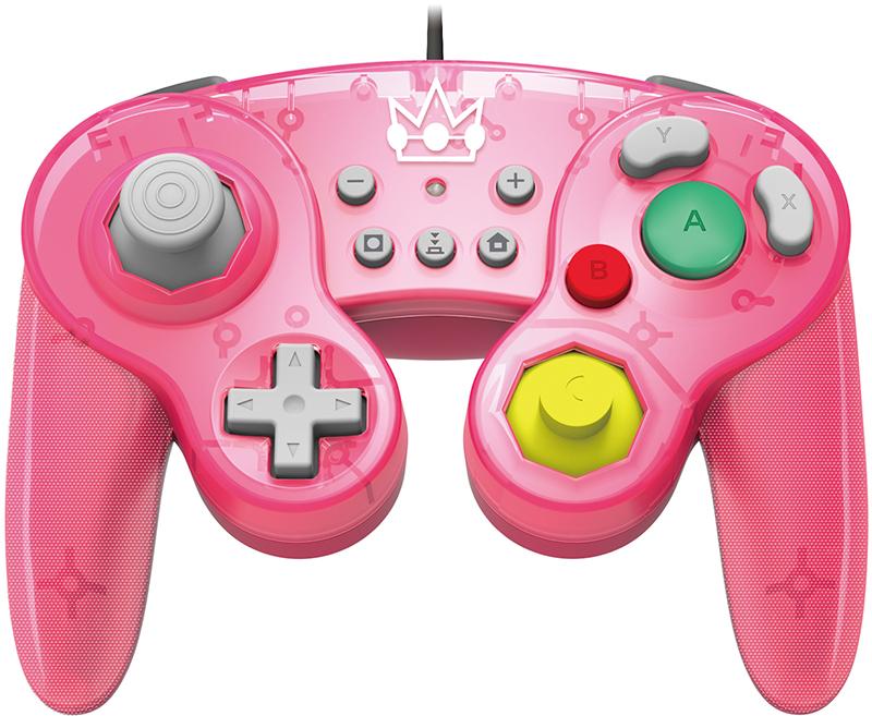 Геймпад Hori Battle Pad Peach  Nintendo Switch дополнительное изображение 1
