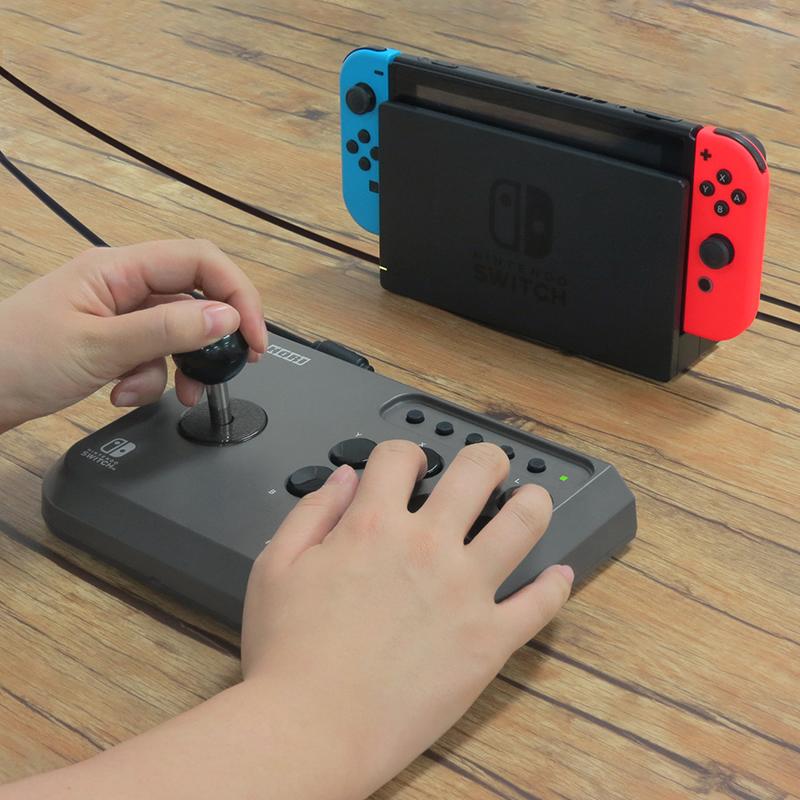 Аркадный джойстик HORI Fighting Stick Mini  Nintendo Switch дополнительное изображение 2