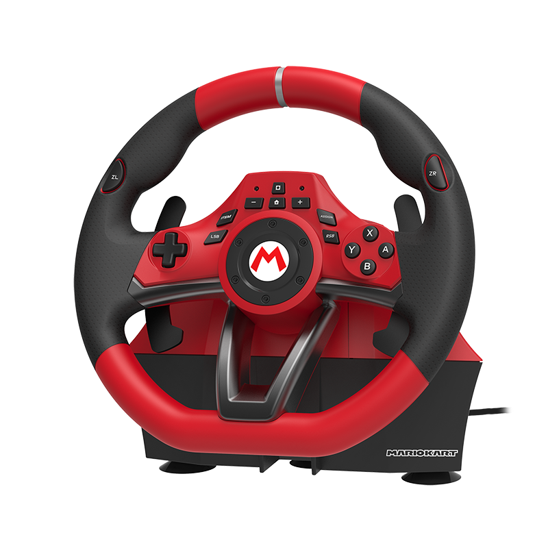 Руль Hori Mario Kart racing wheel pro Deluxe  Nintendo Switch дополнительное изображение 1