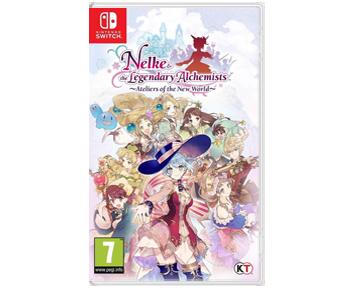 Nelke & the Legendary Alchemists Ateliers of the New World (Nintendo Switch)